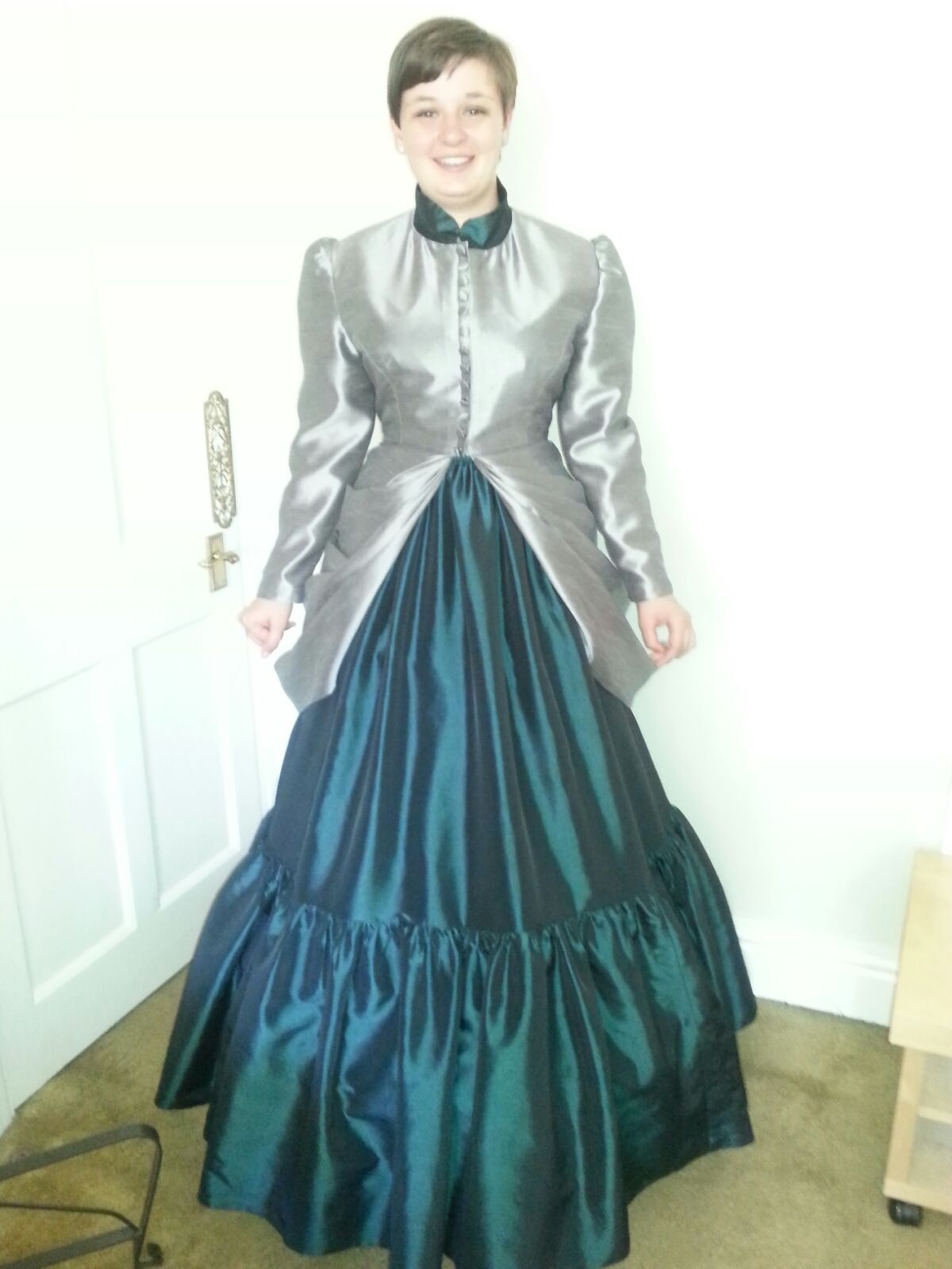 Victorian Inspired Prom Dress – BagLadyBird – Learn to Sew