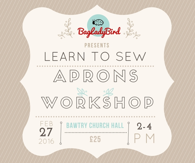 Learn to Sew Aprons Workshop