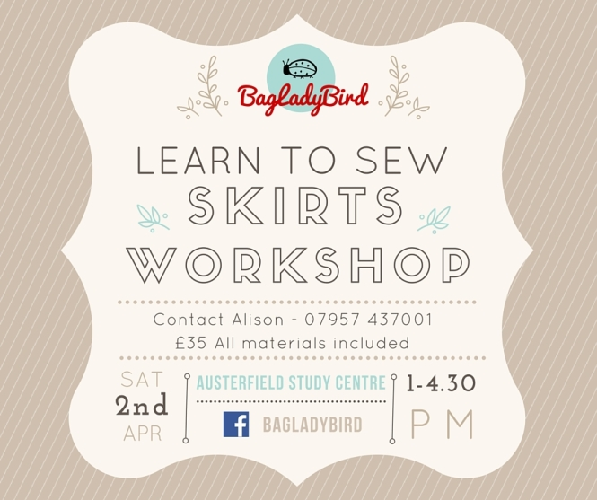 Learn to Sew Skirts Workshop(3)