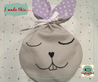 I made this... Easter Bunny pouch