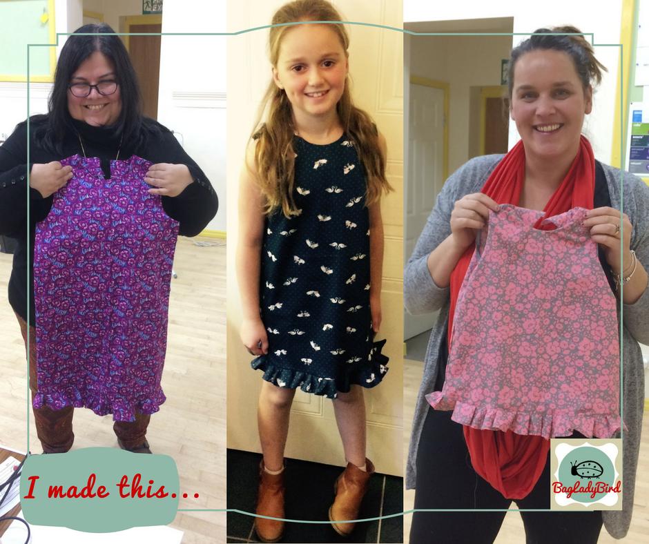I made this... Little Girl's Dresses