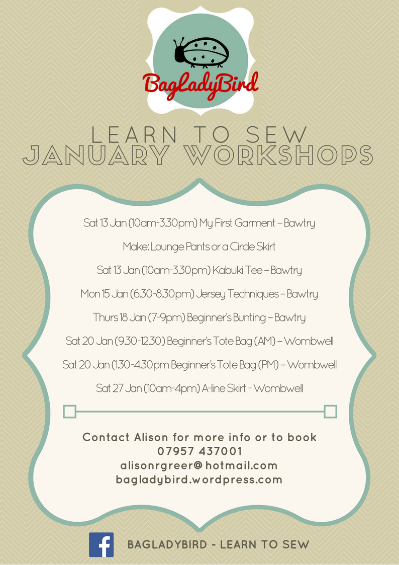 January 2018 Workshops A4