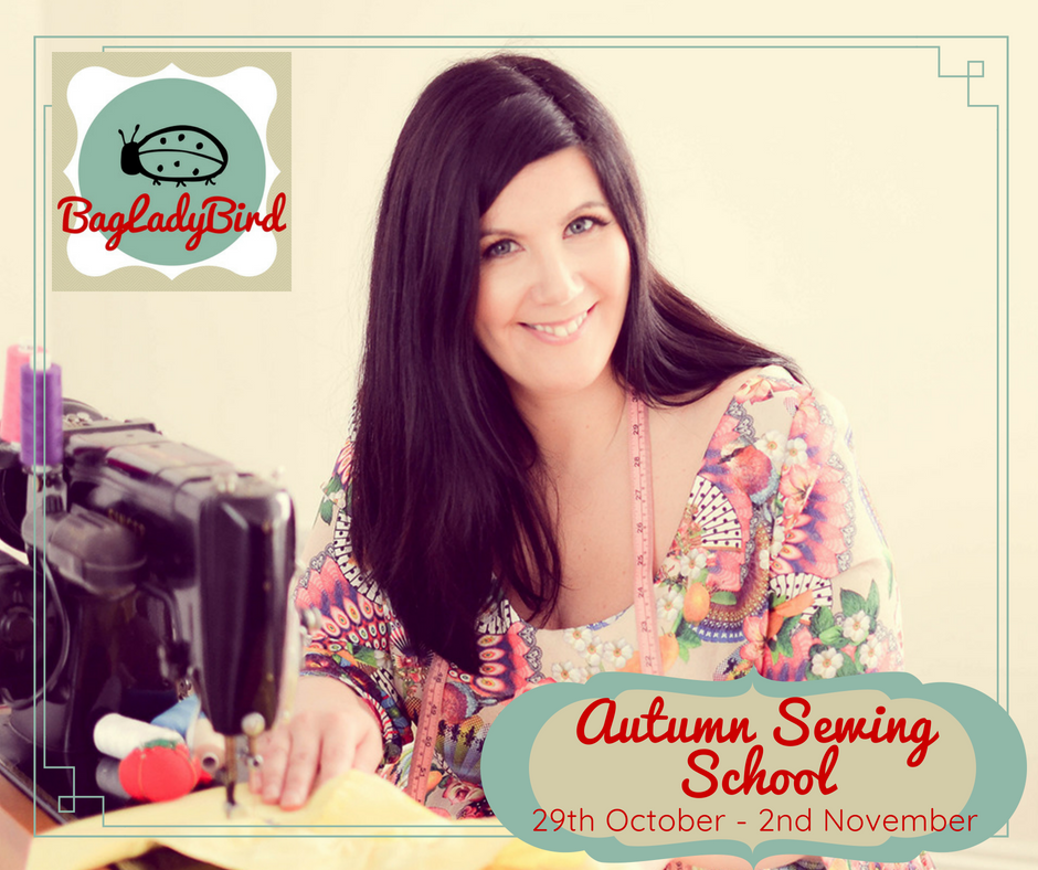 Autumn Sewing School - FB post