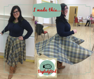 I made this... circle skirt