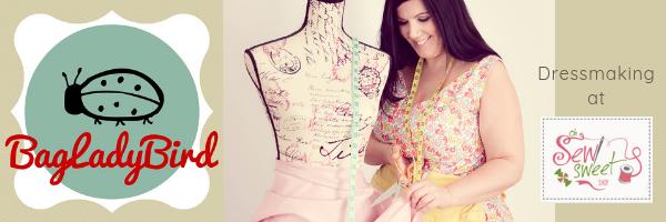 Dressmaking at Oh Sew Sweet Mailchimp header
