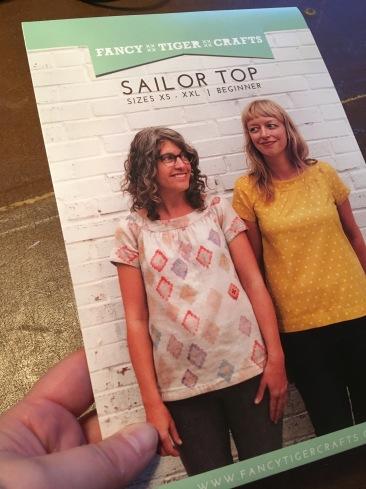 Fancy Tiger Crafts Sailor Top